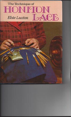 9780823150519: Technique of Honiton Lace