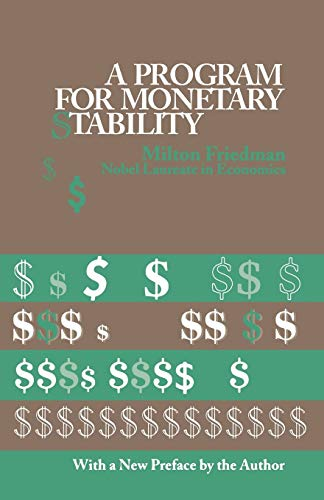 9780823203710: A Program For Monetary Stability