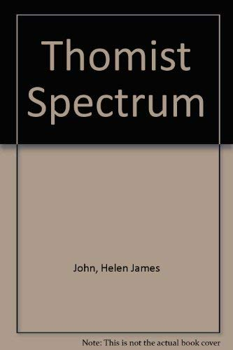 9780823207152: The Thomist Spectrum
