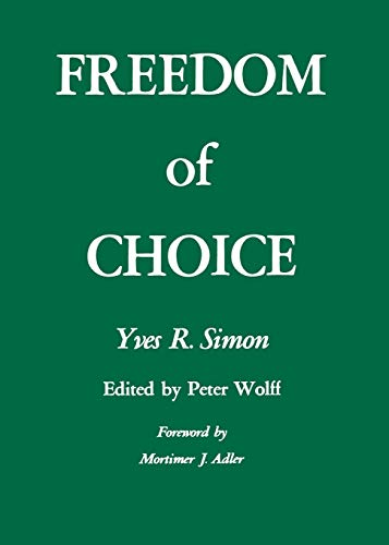 9780823208418: Freedom of Choice