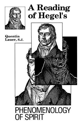 A Reading of Hegel's Phenomenology of Spirit: Lauer, Quentin, S.J.