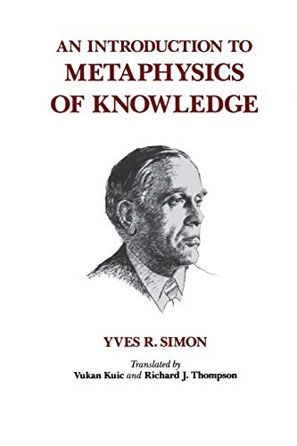 9780823212637: An Introduction to Metaphysics of Knowledge