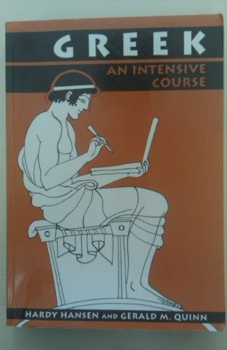 9780823213504: Greek: An Intensive Course [2 volumes]