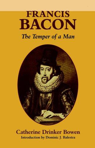 9780823215379: Francis Bacon: The Temper of a Man
