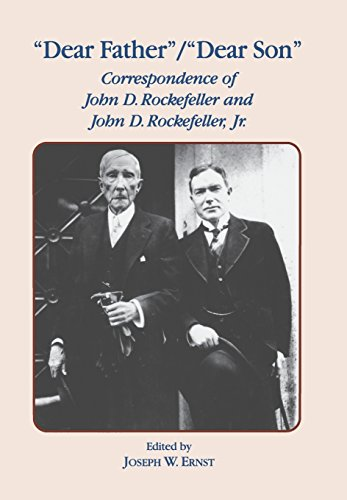 9780823215591: Dear Father, Dear Son: Correspondence of John D. Rockefeller and Jr.