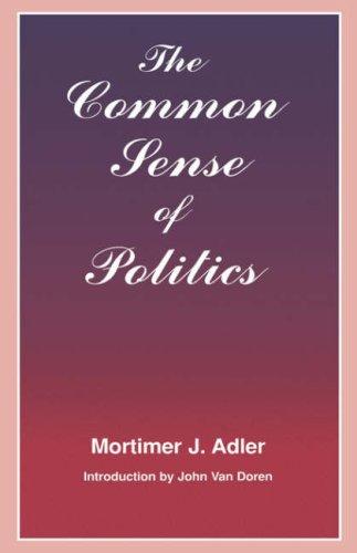 9780823216666: The Common Sense of Politics