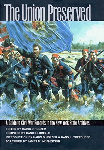 9780823219001: The Union Preserved: A Guide to Civil War Records in the NYS Archives