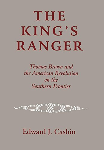 9780823219070: The King's Ranger: Thomas Brown and the American Revolution on the Southern Frontier