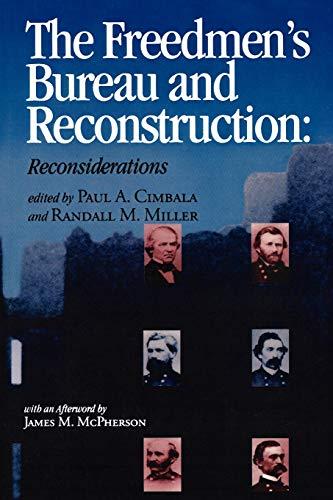 9780823219353: The Freedmen's Bureau and Reconstruction (Reconstructing America)