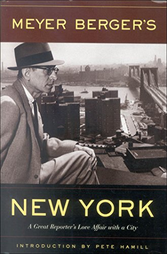 9780823223275: Meyer Berger's New York: A Great Reporter's Love Affair with a City