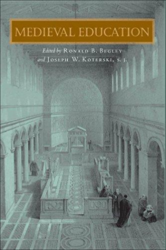9780823224258: Medieval Education (Fordham Series in Medieval Studies)