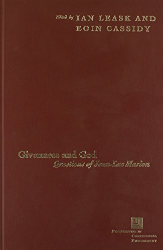 9780823224500: Givenness And God: Questions Of Jean-luc Marion