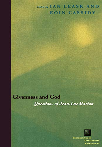 9780823224517: Givenness And God: Questions Of Jean-luc Marion