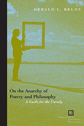 9780823226320: On the Anarchy of Poetry and Philosophy: A Guide for the Unruly (Perspectives in Continental Philosophy)