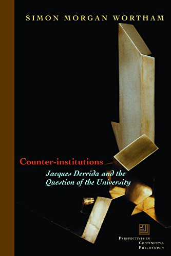9780823226665: Counter-Institutions: Jacques Derrida And the Question of the University (Perspectives in Continental Philosophy)
