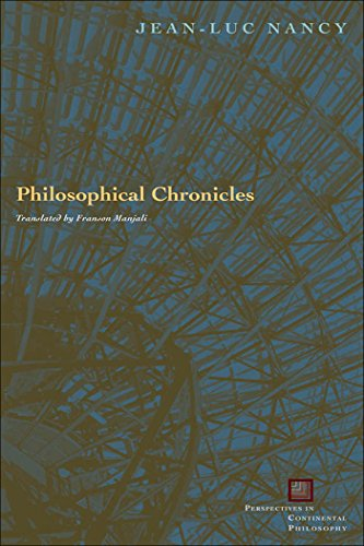 9780823227587: Philosophical Chronicles (Perspectives in Continental Philosophy)