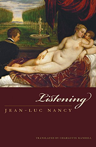 9780823227723: Listening (Perspectives in Continental Philosophy)