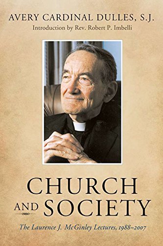 9780823228621: Church and Society: The Laurence J. McGinley Lectures, 1988-2007