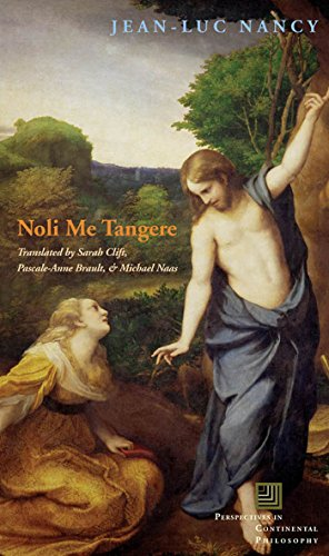 9780823228898: Noli me tangere: On the Raising of the Body (Perspectives in Continental Philosophy)