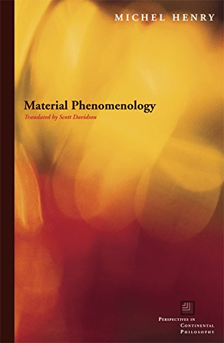 9780823229437: Material Phenomenology (Perspectives in Continental Philosophy)