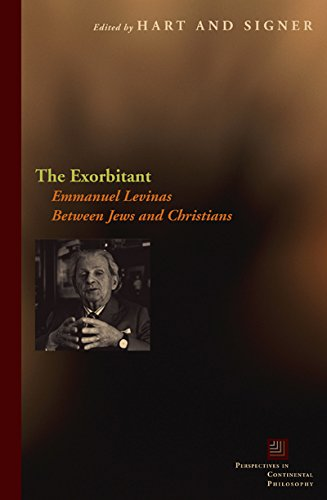 9780823230150: The Exorbitant: Emmanuel Levinas Between Jews and Christians (Perspectives in Continental Philosophy)