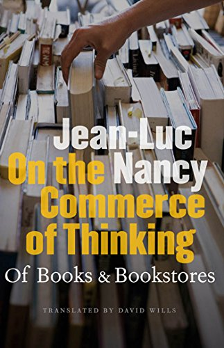 9780823230365: On the Commerce of Thinking: Of Books and Bookstores