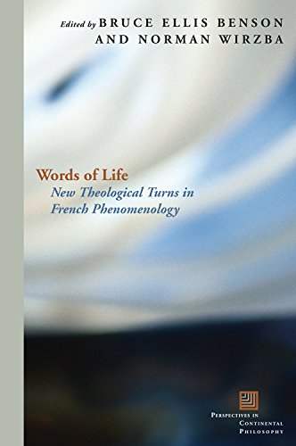 9780823230723: Words of Life: New Theological Turns in French Phenomenology (Perspectives in Continental Philosophy)