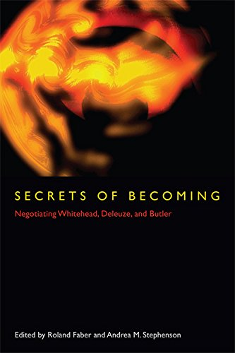 9780823232086: Secrets of Becoming: Negotiating Whitehead, Deleuze, and Butler