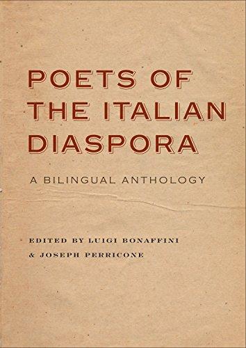 9780823232543: Poets of the Italian Diaspora: A Bilingual Anthology