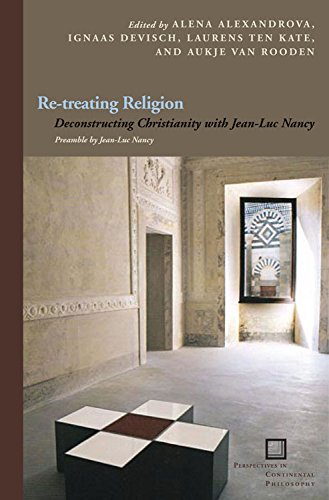 9780823234653: Re-treating Religion: Deconstructing Christianity with Jean-Luc Nancy (Perspectives in Continental Philosophy)