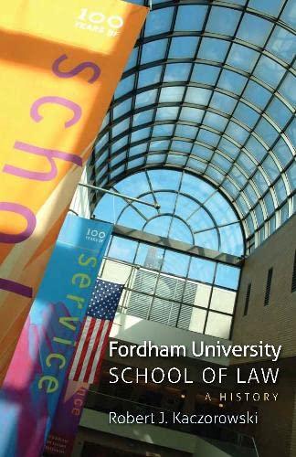 9780823239559: Fordham University School of Law: A History