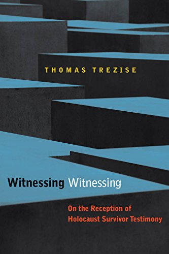 9780823244485: Witnessing Witnessing: On the Reception of Holocaust Survivor Testimony