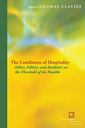 9780823251483: The Conditions of Hospitality (Perspectives in Continental Philosophy)