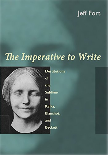 9780823254699: The Imperative to Write: Destitutions of the Sublime in Kafka, Blanchot and Beckett