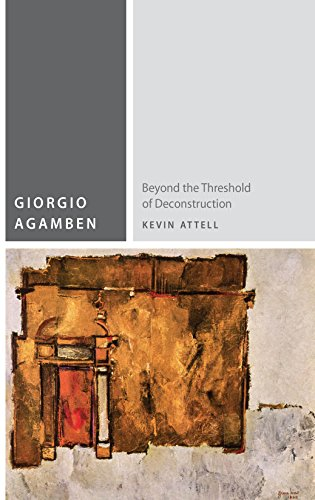 9780823262045: Giorgio Agamben: Beyond the Threshold of Deconstruction (Commonalities (FUP))