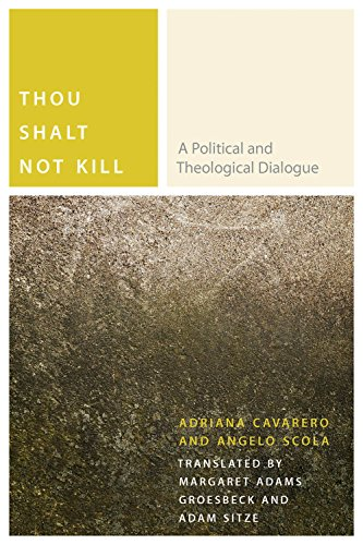 9780823267347: Thou Shalt Not Kill: A Political and Theological Dialogue (Commonalities)