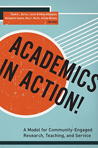 9780823268795: Academics in Action!: A Model for Community-Engaged Research, Teaching, and Service