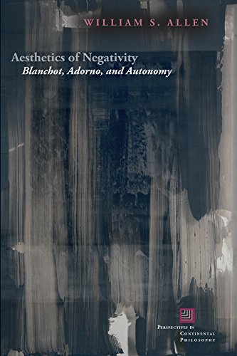 9780823269280: Aesthetics of Negativity: Blanchot, Adorno, and Autonomy (Perspectives in Continental Philosophy)