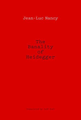 9780823275939: The Banality of Heidegger (5 3/8 X 7 7/8)