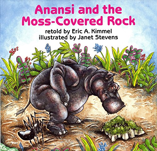 9780823406890: Anansi and the Moss-Covered Rock (Anansi the Trickster)