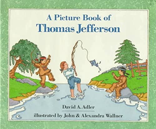9780823407910: A Picture Book of Thomas Jefferson