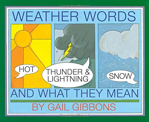 9780823408054: Weather Words and What They Mean