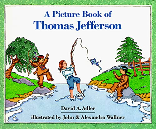 9780823408818: A Picture Book of Thomas Jefferson (Picture Book Biography)