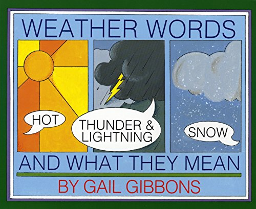 9780823409525: Weather Words and What They Mean