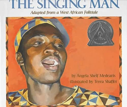 9780823411030: The Singing Man: Adapted from a West African Folktale