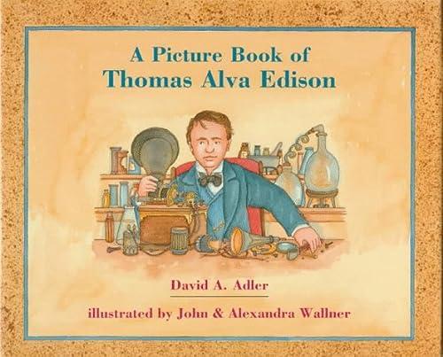 9780823412464: A Picture Book of Thomas Alva Edison (Picture Book Biographies)