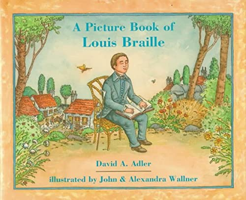 A Picture Book of Louis Braille (Picture Book Biography) (0823412911) by David A. Adler