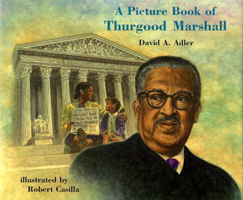 9780823413089: A Picture Book of Thurgood Marshall (Picture Book Biographies)
