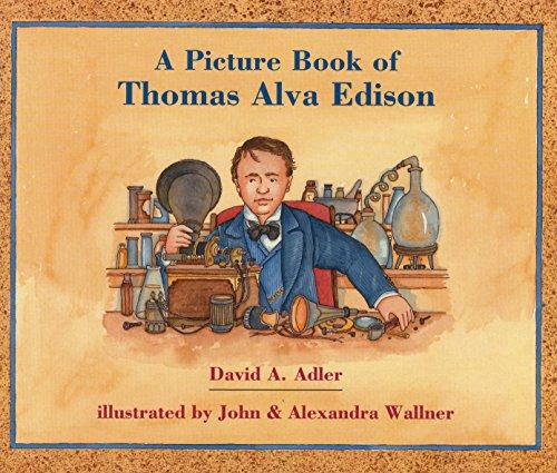 9780823414147: A Picture Book of Thomas Alva Edison