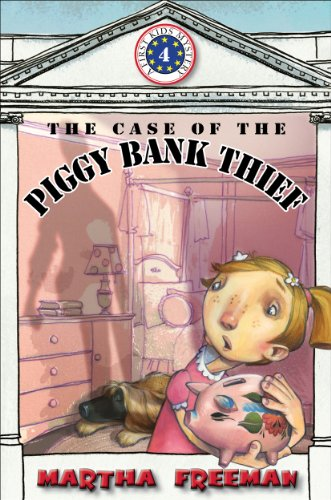 9780823425174: The Case of the Piggy Bank Thief: First Kids Mystery #4